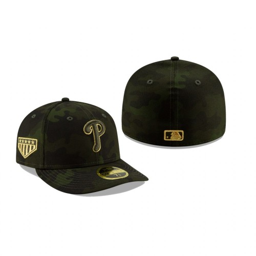 2019 Armed Forces Day Phillies Low Profile 59FIFTY Camo Hat