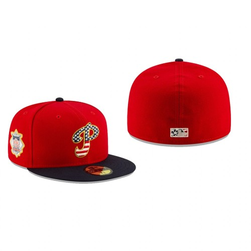 2019 Stars & Stripes Phillies 59FIFTY Independence Day Hat