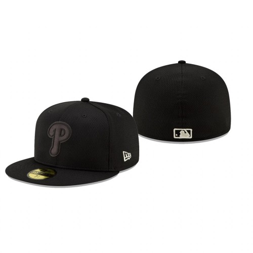 2019 Players' Weekend Phillies Black On-Field 59FIFTY Fitted Hat