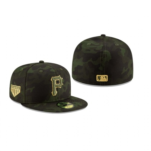 2019 Armed Forces Day Pirates 59FIFTY Fitted Camo Hat