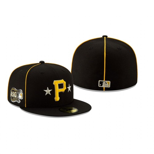 2019 MLB All-Star Game Pittsburgh Pirates 59FIFTY Black Hat