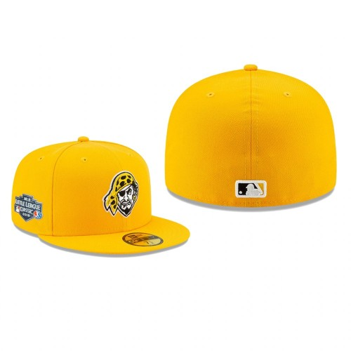 2019 Little League Classic Pirates Yellow 59FIFTY Fitted On-Field Hat