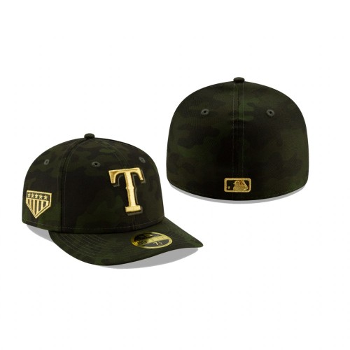 2019 Armed Forces Day Rangers Low Profile 59FIFTY Camo Hat