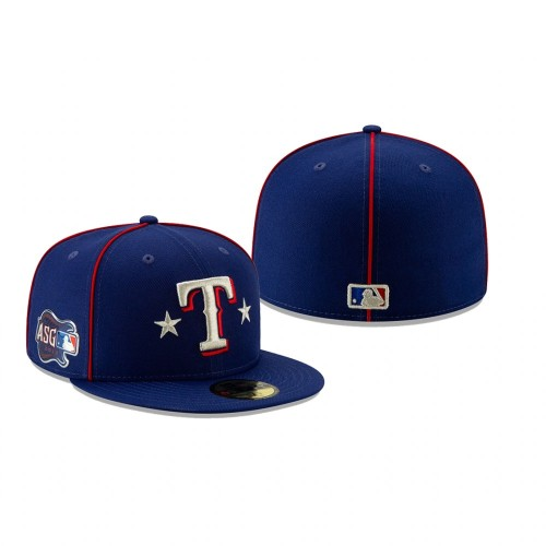 2019 MLB All-Star Game Texas Rangers 59FIFTY Royal Hat