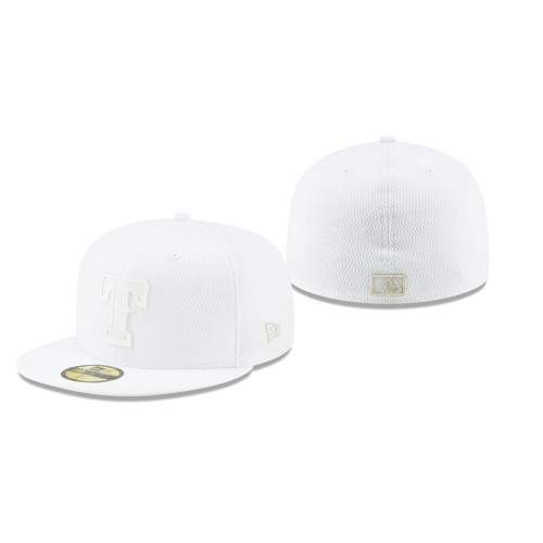 2019 Players' Weekend Rangers White On-Field 59FIFTY Fitted Hat