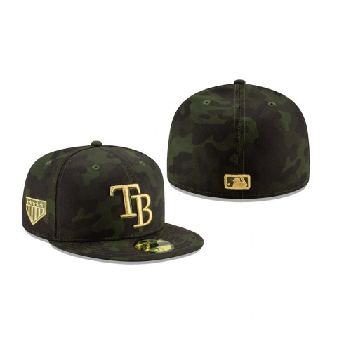 2019 Armed Forces Day Rays 59FIFTY Fitted Camo Hat