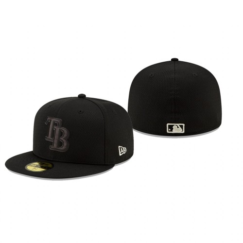 2019 Players' Weekend Rays Black On-Field 59FIFTY Fitted Hat
