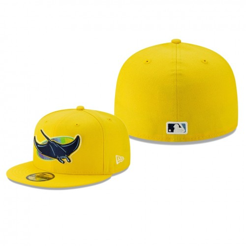2019 Little League Classic Rays Yellow 59FIFTY Fitted New Era Hat