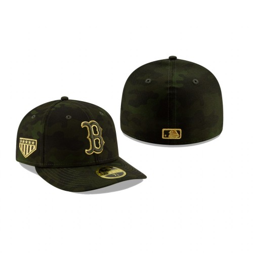 2019 Armed Forces Day Red Sox Low Profile 59FIFTY Camo Hat