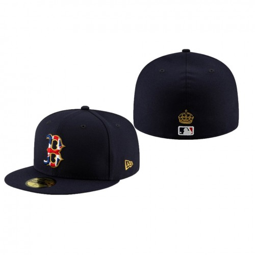 2019 London Series 59FIFTY Fitted Navy Hat