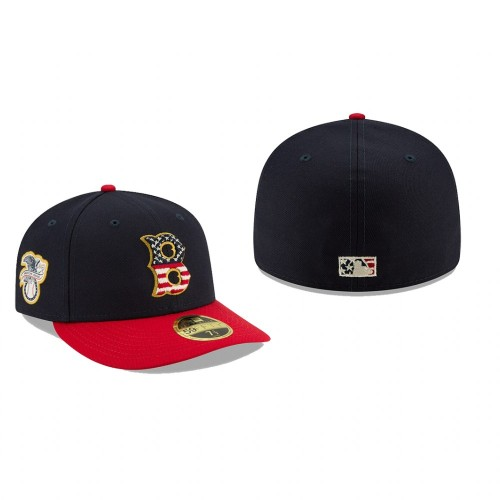 2019 Independence Day Red Sox Low Profile 59FIFTY Stars & Stripes Hat