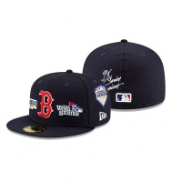 Red Sox 9x World Series Champions 59FIFTY Fitted Navy Hat