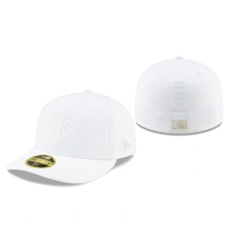 2019 Players' Weekend Red Sox New Era White Low Profile 59FIFTY Fitted Hat