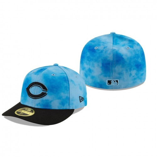 2019 Father's Day Low Profile 59FIFTY Blue Black Hat