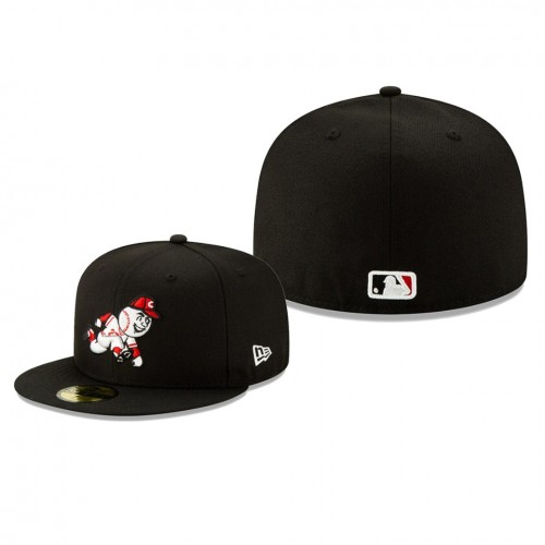 2019 Little League Classic Reds Black 59FIFTY Fitted New Era Hat