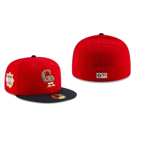 2019 Stars & Stripes Rockies 59FIFTY Independence Day Hat