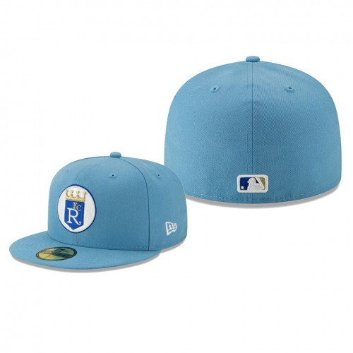 2019 Little League Classic Royals Light Blue 59FIFTY Fitted New Era Hat