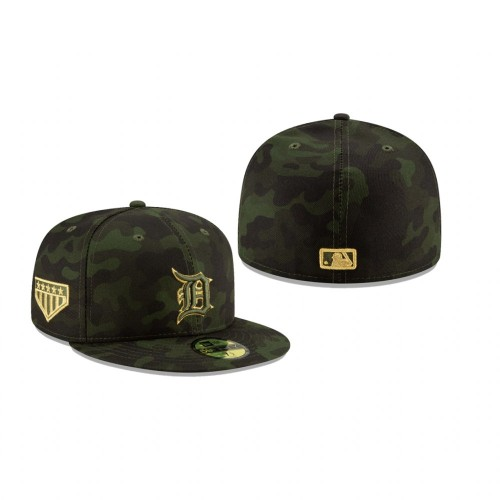 2019 Armed Forces Day Tigers 59FIFTY Fitted Camo Hat
