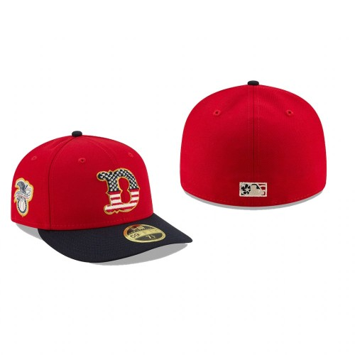 2019 Independence Day Tigers Low Profile 59FIFTY Stars & Stripes Hat