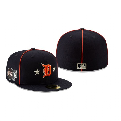 2019 MLB All-Star Game Detroit Tigers 59FIFTY Navy Hat