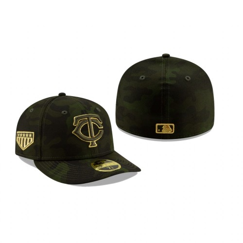 2019 Armed Forces Day Twins Low Profile 59FIFTY Camo Hat