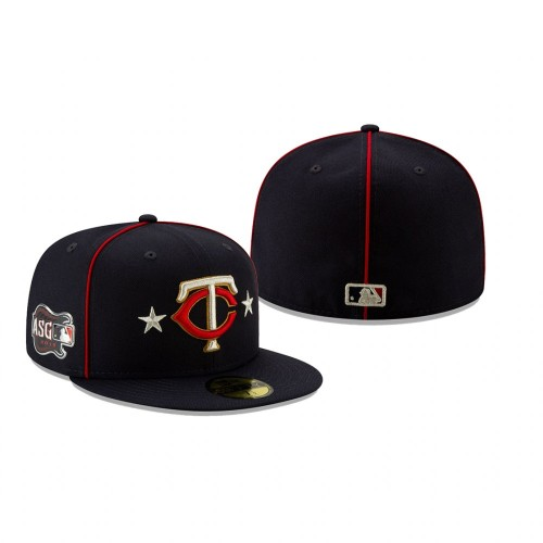 2019 MLB All-Star Game Minnesota Twins 59FIFTY Navy Hat
