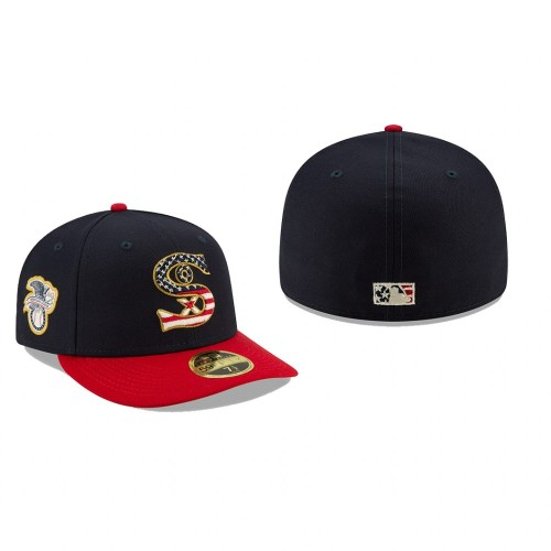 2019 Independence Day White Sox Low Profile 59FIFTY Stars & Stripes Hat