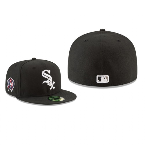 White Sox 9/11 Remembrance Sidepatch 59FIFTY Fitted Black Hat