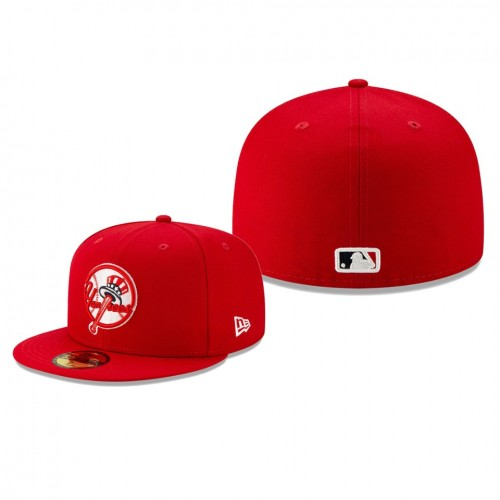 2019 Little League Classic Yankees Red 59FIFTY Fitted New Era Hat